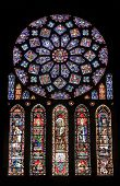 Chartres - Cathedral, Stained Glass Window