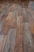 image of linoleum  - Linoleum floor covering imitation wood - JPG