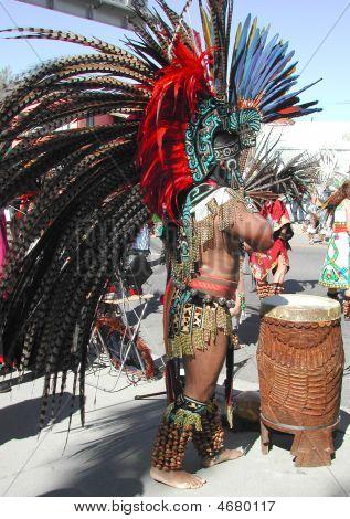 Aztekische drummer3