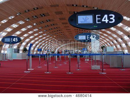 Depature Gate A