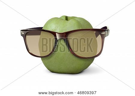 Sunglasses on Guava