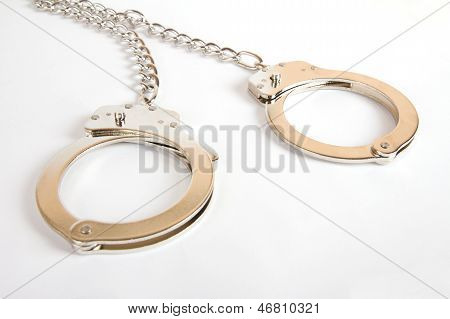 A Pair Of Handcuffs