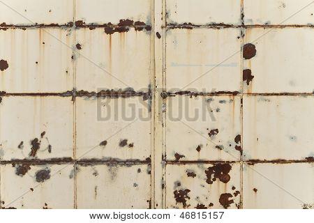 Rusting Iron Gate