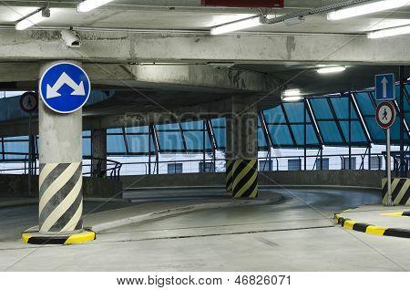 Parking Garage - Exit