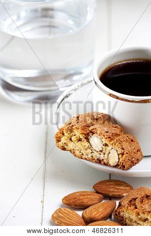 Cantuccini Biscuits And Espresso