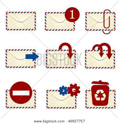 E-mail Icon Set 1