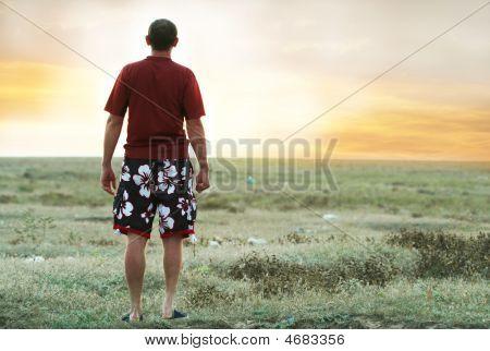 Man On Sunset