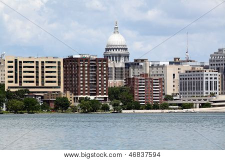 Madison Wisconsin Skyline