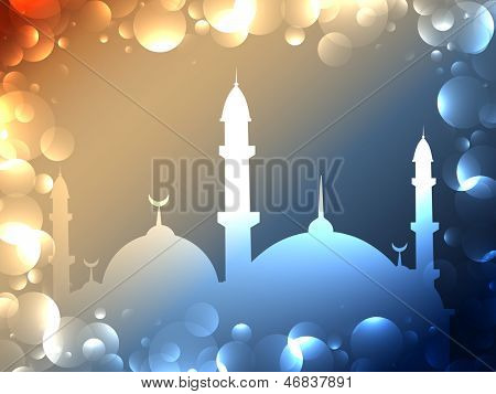vector arabic islamic background design