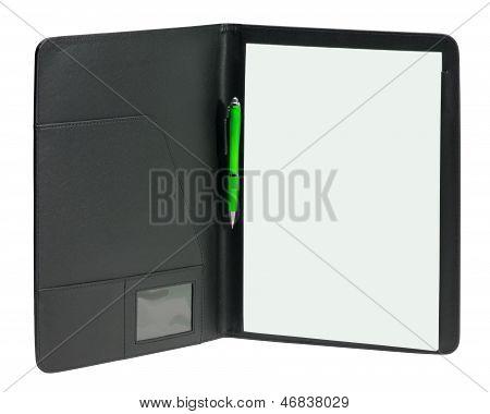 Black Writing Case