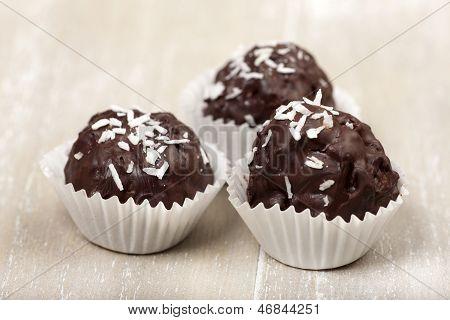 Three Coconut Milk Rice Truffles