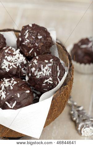 Coconut Milk Rice Truffles