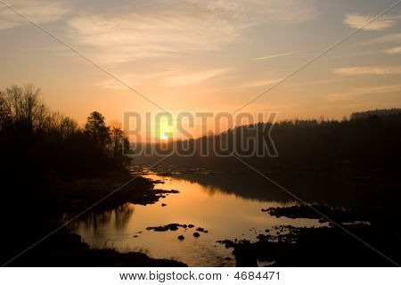 River Sunrise