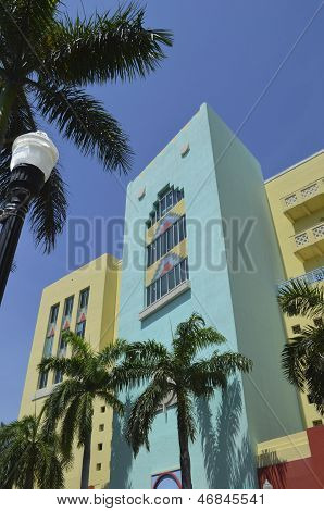 Newly Built Commercial Buildings ala Art Deco