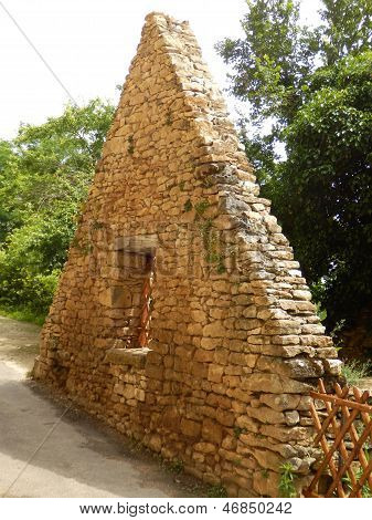 Medieval Dry-stone Gable End