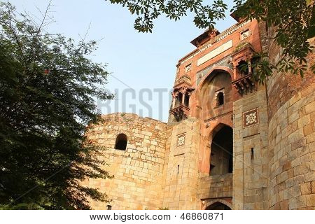 Old Fort Enterance, Delhi