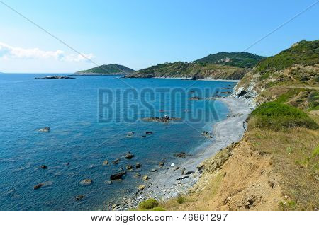 Beautifull Coastline Cliffs
