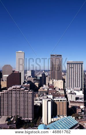 City buildings, New Orleans, USA.