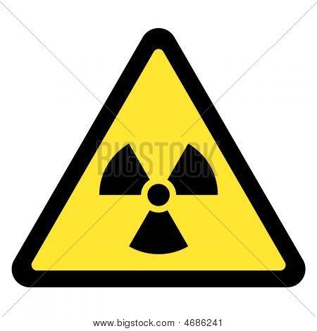 Radiación - triángulo