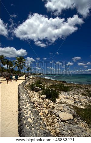 Republica Dominicana Tourist Coastline