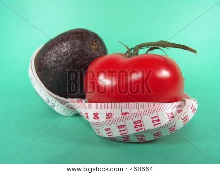 Measuring Avocado Tomato