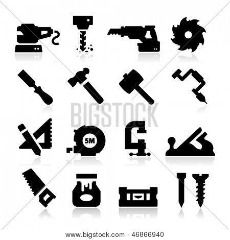 木工图标 库存矢量图和库存照片 | bigstock