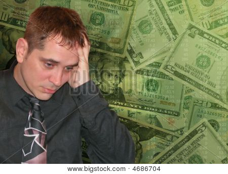 Man With Money Worries