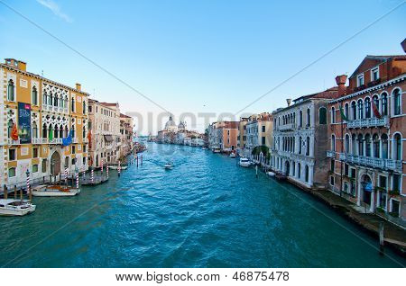 Venice Italy Grand Canal View
