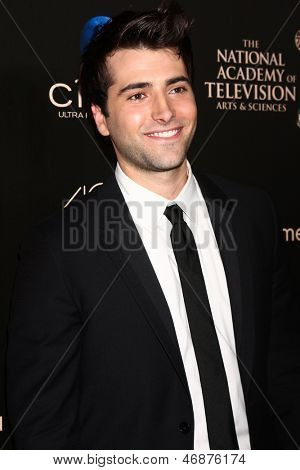 LOS ANGELES - JUN 16:  Freddie Smith arrives at the 40th Daytime Emmy Awards at the Skirball Cultural Center on June 16, 2013 in Los Angeles, CA