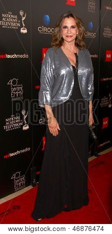 LOS ANGELES - JUN 16:  Jess Walton arrives at the 40th Daytime Emmy Awards at the Skirball Cultural Center on June 16, 2013 in Los Angeles, CA