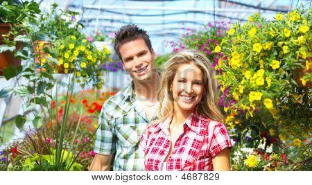 Menschen Floristen