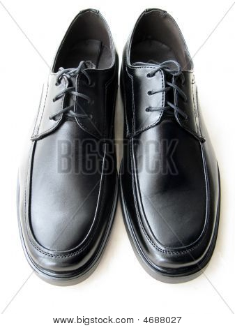 Leather Shoes Of Man