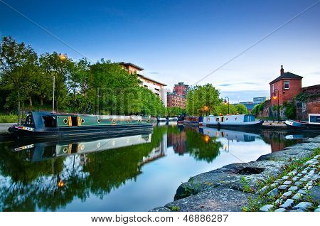 Castlefield Manchester canal