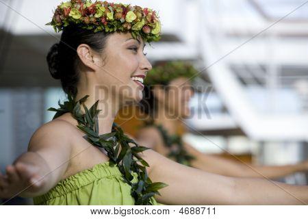 Bailarines de Hula