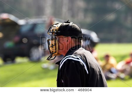 Baseball � Platte Schiedsrichter