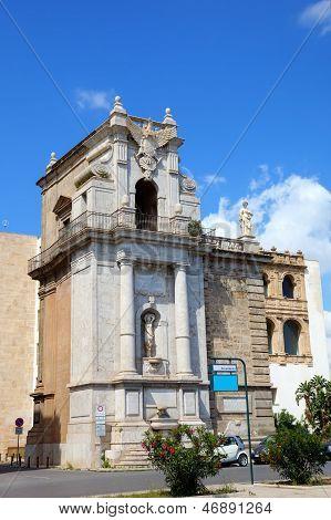 Porta Felice in Palermo. Sicily, Italy