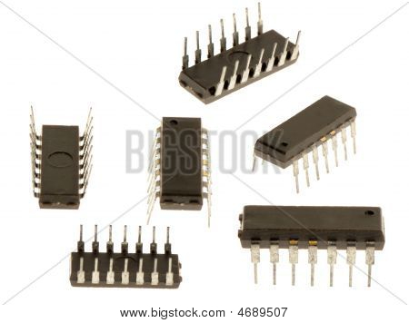 Set Old Silicone Chip
