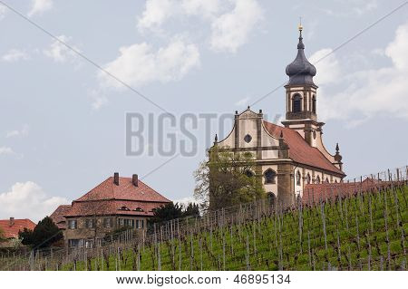 Church St Johannis Or Johannes In Castell Germany