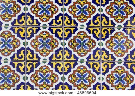 Old Spanish Ceramic Tiles