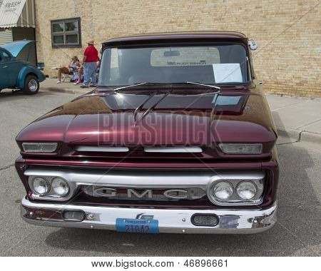 1962 Gmc Truck Front View