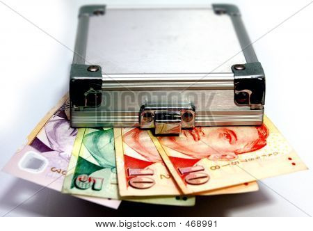 Money Box Singapore Dollars