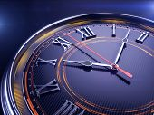 stock photo of surreal  - Clock - JPG