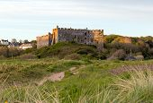 foto of west village  - Manorbier Castle is a Norman castle located in the village of Manorbier - JPG