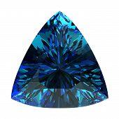 picture of alexandrite  - Gemstone on white background  - JPG
