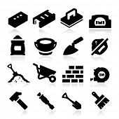 foto of bricklayer  - Bricklayer Icons - JPG
