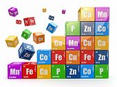 stock photo of chemical reaction  - Chemistry concept - JPG