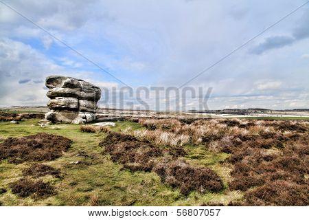 Eagle Stone at Baslow