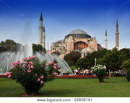Mosque in Istanbul,Turkey