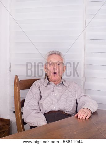 Surpised Old Man