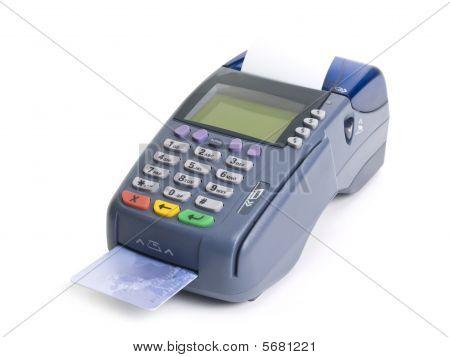 Terminal de cartão de crédito